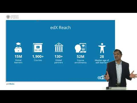 edX brief video at UPV. Anant Agarwal | UPV