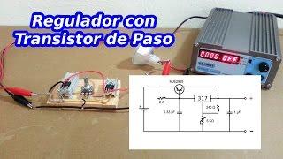 Regulador de Voltaje con Transistor de Paso