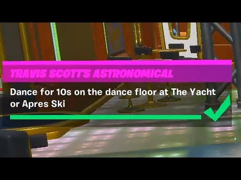 Dance For 10s On The Dance Floor At The Yacht Or Apres Ski Fortnite