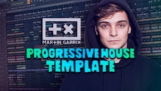 Martin Garrix Style | Progressive House Template by Zellix [FREE FLP]