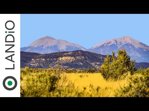 Land For Sale :  35 Acre Ranch with Electricity, Road Frontage & Mountain Views near Trinidad, CO