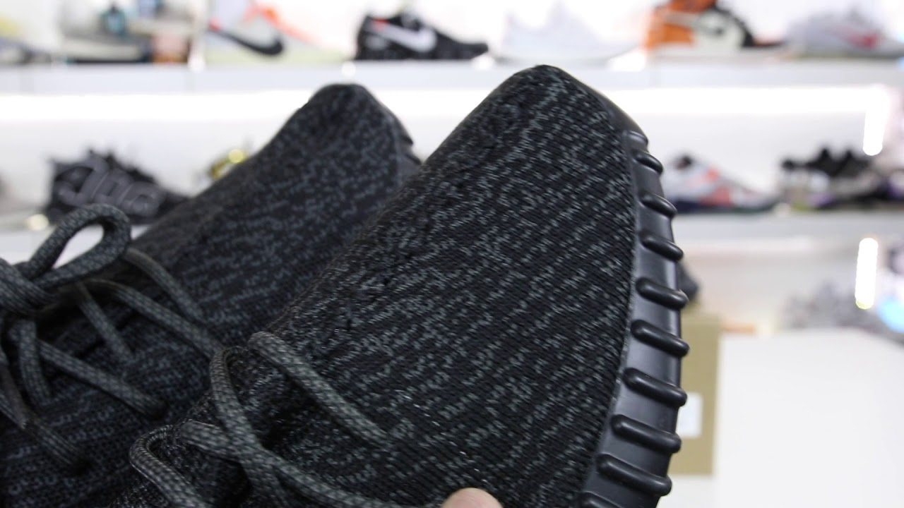 5b8622bad REAL or FAKE From EBAY  He Paid  800 For YEEZY BOOST 350 V1 Pirate Black