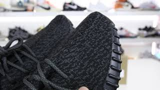REAL or FAKE From EBAY? He Paid $800 For YEEZY BOOST 350 V1 Pirate Black