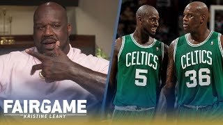 "Shaq on Paul Pierce, Kevin Garnett: ""I Robbed the Celtics. I Was Ring Chasing"" 