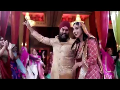 jagmeet singh canada and gurkiran kaur dance| marriage reception video