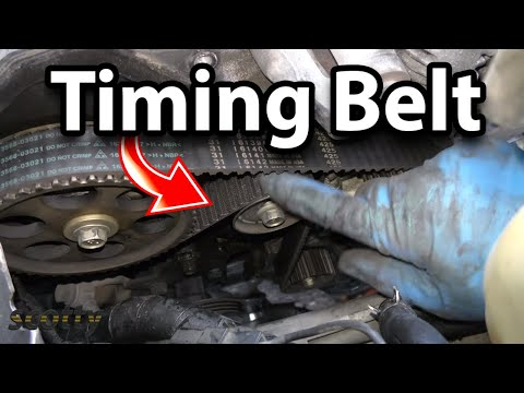 How to Replace a Water Pump and Timing Belt in Your Car