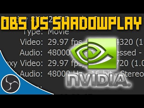 OBS Studio 144 - OBS VERSUS NVIDIA SHADOWPLAY - Which One is Better? Why use OBS?