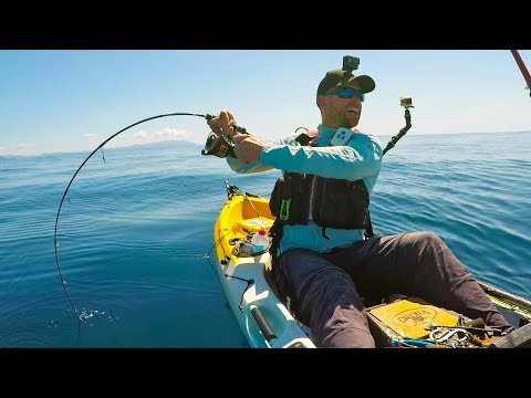 Offshore Kayak Fishing EXTREMELY Remote Islands -- New Zealand Ep 11