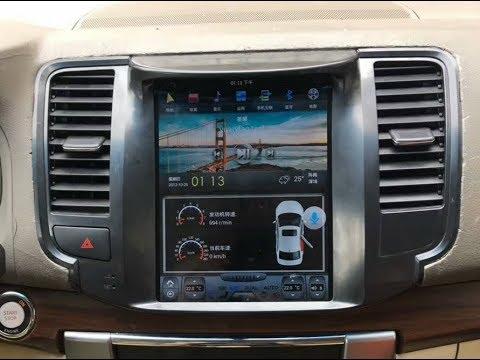 Штатная магнитола в стиле Tesla Nissan Teana (2008-2014) 2/32Gb Android CF-3233