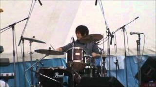 岡山大学、軽音FOLK、学祭2009 3日目 part.2 トライセラトップスのコピーバンド.