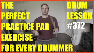 The Perfect Practice Pad Exercise For Any Drummer