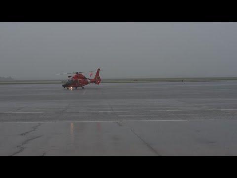 Coast Guard Responds To Flooding Near Beaumont, Texas