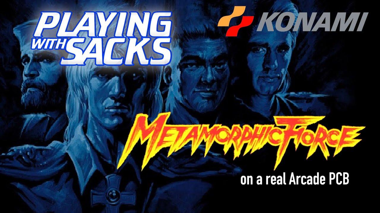 Metamorphic Force - Arcade - PlayingWithSacks - YouTube