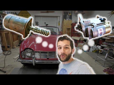 Classic Car Performance HIGH TORQUE Starter Install On Triumph TR4 | Wegs Garage