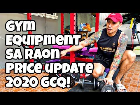 Gym And Exercise Equipment Sa Raon Quiapo | Price Update | VLOG # 1 | GCQ VLOG