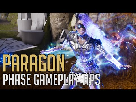 Paragon - Phase Gameplay and Ability Tips (Shadow Lynx Skin)