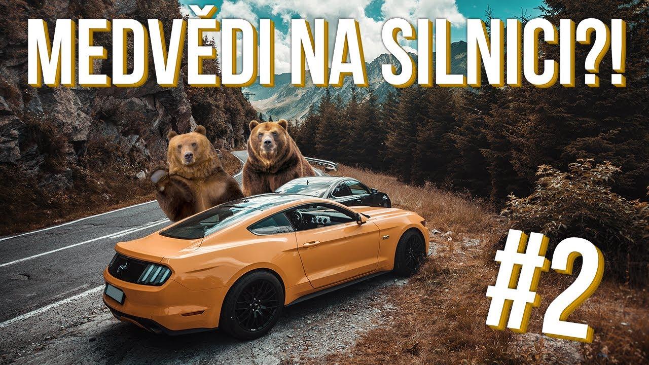 Medvědi na silnici?! | #Transfagarasan 2/2