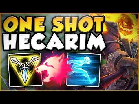 WTF IS THIS BURST?? COME ON RITO! 1 SHOT HECARIM OP! HECARIM JUNGLE GAMEPLAY! - League of Legends