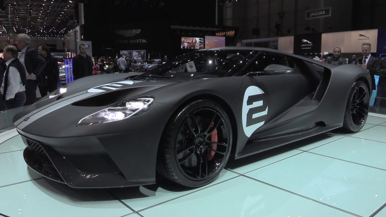 Ford Gt  Heritage Edition At  Geneva Motor Show Automototv
