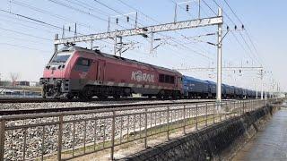 성환역 부근 지나가는 화물열차 기차소리