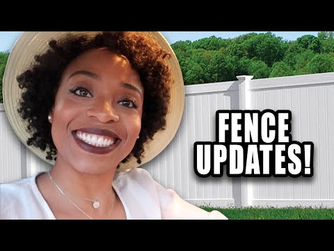 My Real Life | VLOG #82 - Fence Updates! + How Much Does This Cost?