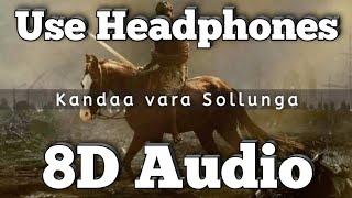 Kandaa vara Sollunga Song -(8D Version)| Karnan (Movie)| Santhosh Narayanan | Kidarakuzhi Mariamma