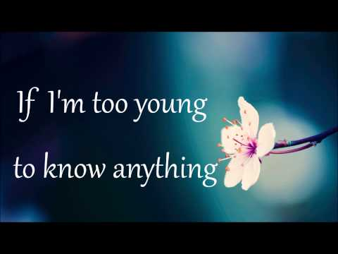 Sabrina Carpenter - Too Young - Lyrics