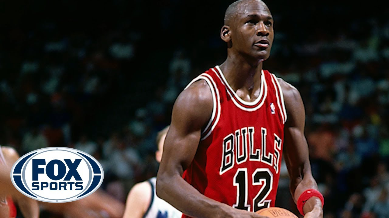 the best attitude 2d868 fd37a Michael Jordan once wore a nameless no. 12 jersey and here's why