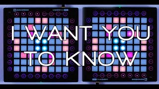 Repeat youtube video Nevs Play: Zedd - I Want You To Know (Launchpad Pro Cover)
