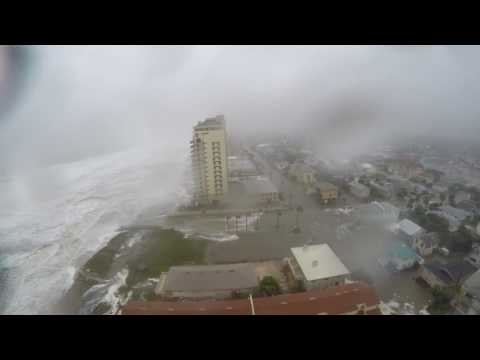 Dramatic Time Lapse Shows Hurricane Matthew Slam Jacksonville Beach