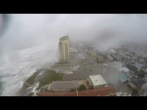 Dramatic Time Lapse Shows Hurricane Matthew Slam Jacksonville Beach