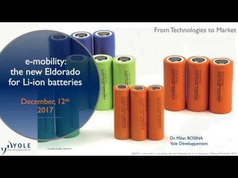 Webcast E Mobility The New Eldorado For Li Ion Batteries