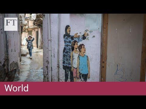 In their footsteps: a walk through a Beirut refugee slum