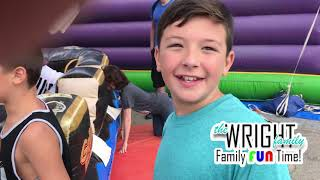 WFFT - Inflatable Slides!  BOUNCE HOUSES!  FUN AND GAMES!