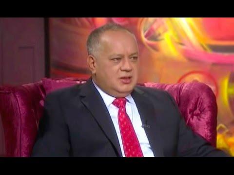Diosdado Cabello, José Vicente. No hay revocatorio ni elecciones presidenciales 2016 2017 Venezuela