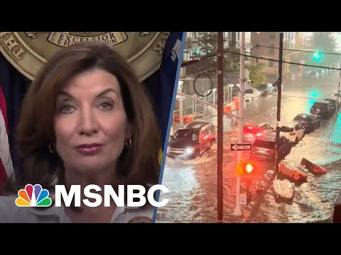 NY Gov. Hochul Will Do A Full After-Action Report After Ida Slams Her State