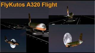 ROBLOX | FlyKutos | Airbus A320 Flight