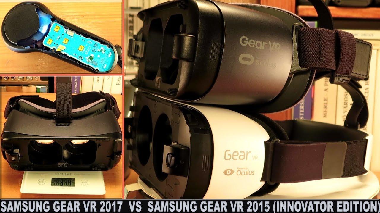Samsung Gear Vr 2017 Note 8 Compatible Vs Samsung Gear Vr 2015