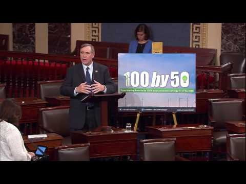 Senator Merkley Unveils 100 by '50 Act