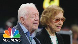 Watch President Jimmy Carter And Rosalynn Carter's Tribute To Joe Biden At The 2020 DNC | NBC News