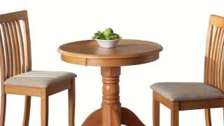 Kinver Dining Table With 2 Naomi Chairs Movie