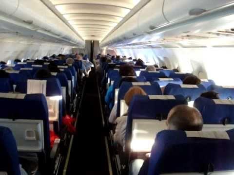 Air france flight 2149 barcelona to paris youtube for Oficinas air france barcelona
