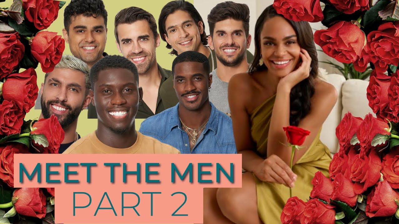Here's a first look at Bachelorette Michelle's 'class photo' with her men