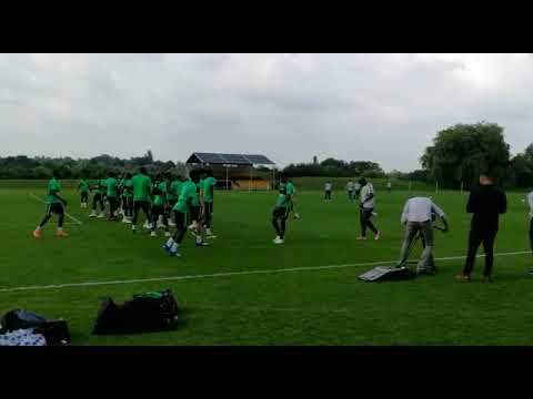 VIDEO: Super Eagles Train For England Friendly