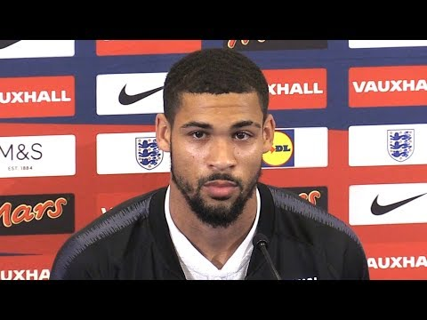 Ruben Loftus-Cheek Press Conference - On World Cup Selection - Russia World Cup 2018 -Embargo Extras