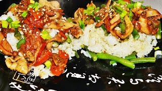 Кальмар жареный по-корейски. Домашние рецепты.