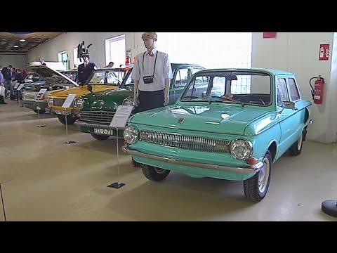 DDR-Fahrzeugausstellung in Pirna eröffnet