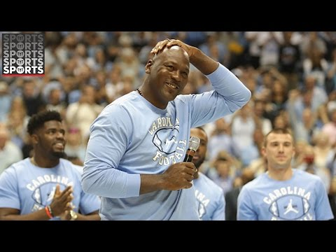 "Michael Jordan Roasted for ""Ceiling is the Roof"" Speech"
