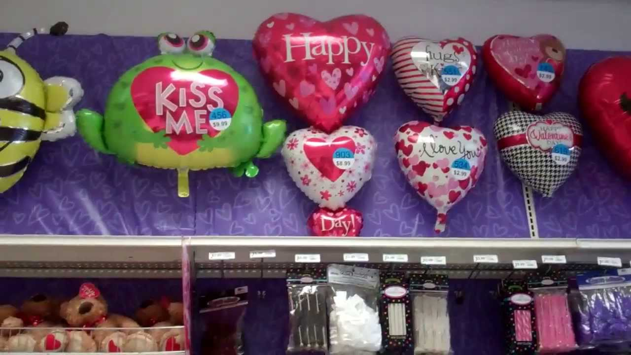 Party city valentine 39 s day decorations youtube for Balloon decoration ideas youtube