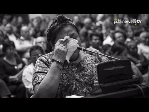 Desahogo de Rigoberta Menchú en 10 frases